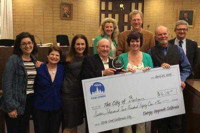 City Council award photo